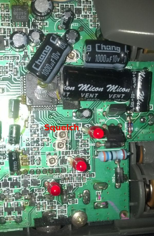 Radio Shack 43-3102 intercom squelch adjustment