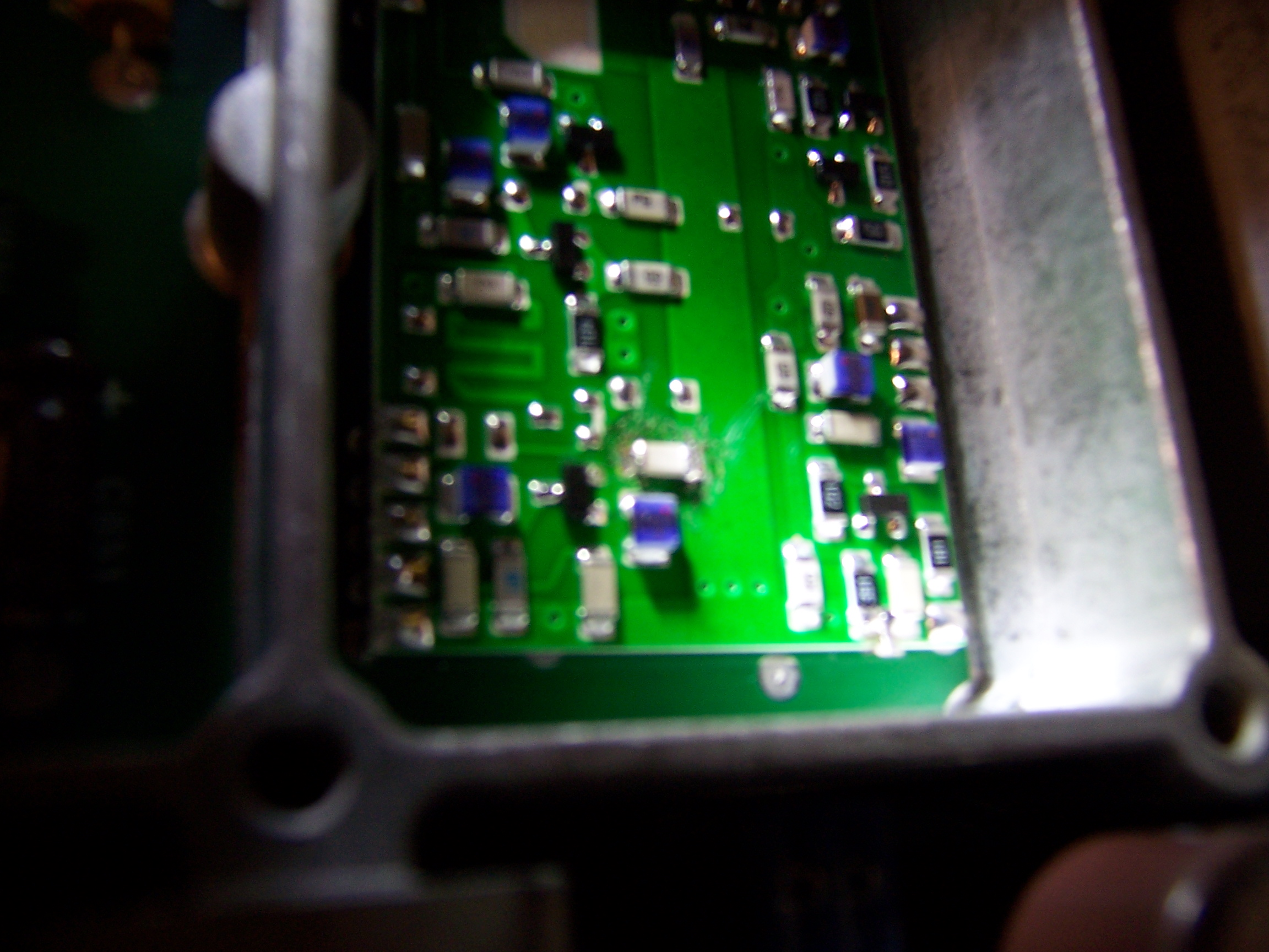 surface mount capacitor soldering with Weller WES51