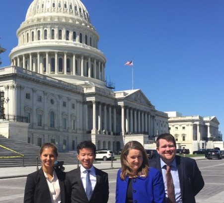 Advocacy: geoscientists on Capitol Hill